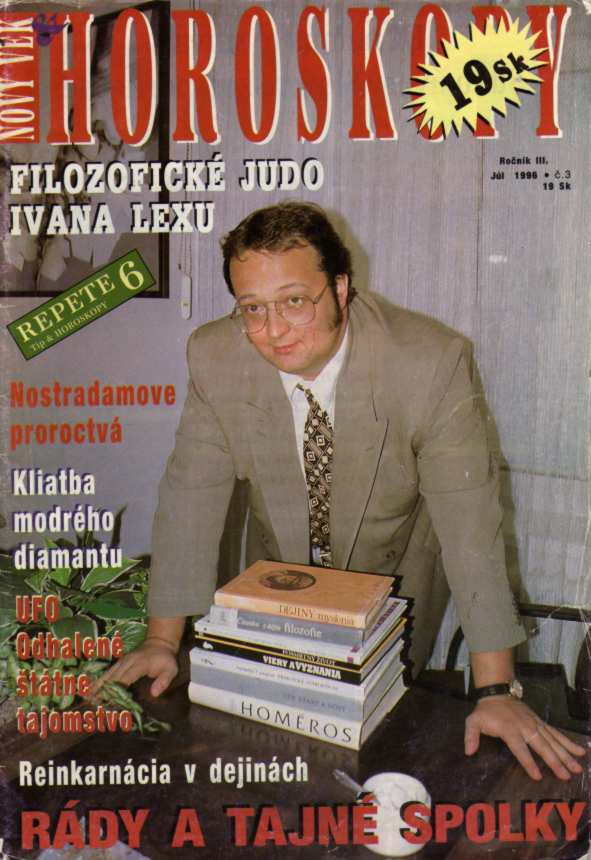 Foto z archívu blogera: Obálka z vydania júl 1998